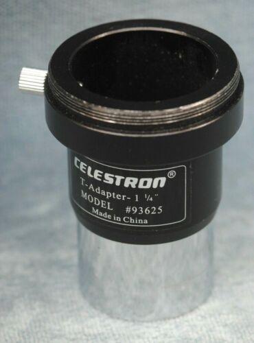 "CELESTRON TELESCOPE T-ADAPTER 1-1//4/"" MODEL #93625"