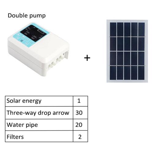Pro Auto Watering Clock Bewässerungsregler Computer Solar Water Timer Tool