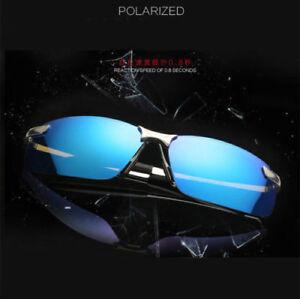 Gafas-de-sol-Polarizadas-Aoron-Blue-HD-UV-400-colores-Funda-Sunglasses