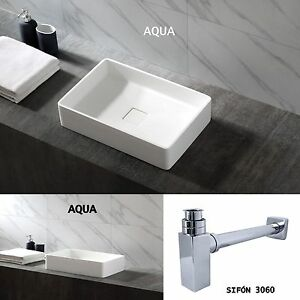 Lavabo Resina Blanco.Detalles De Lavabo Sobre Encimera Aqua Blanco Mate Brillante Resina Pura Sifon3060 Pop Up