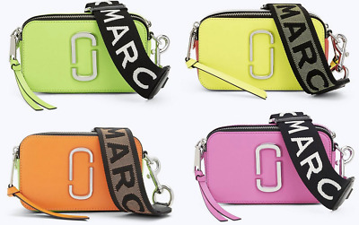 Marc Jacobs Fluorescent Strap Snapshot Small Camera Bag M0014503