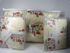 Pottery Barn Zarina Multi Reversible Quilt Full Queen W 2