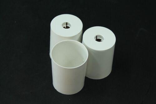 Baldachin für Lampe Leuchte weiß DDR Decken Abdeckung Kunststoff Zylinderform