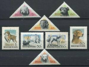 31845-HUNGARY-1956-MNH-Dogs-Cani-8v-Scott-1148-55