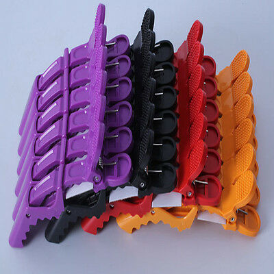 Hair Clip Aluminum Plastic Professional Hairdressing Cutting Salon Styling Tools