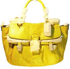 NWT Coach 23432 Madison Pinnacle Embossed Metallic Python Abby Bag MSRP $1000