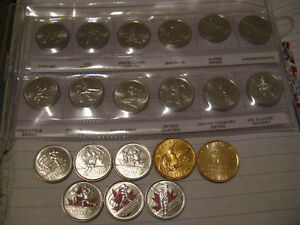 Canada-Vancouver-2010-Olympics-Complete-20-Coins-Set-In-Album