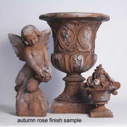 Limo Pedestal For Garden Urn Urn Urn Statue Sculpture- Fiberstone- Orlandi FS8572 e69bc2