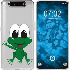 Samsung-Galaxy-A80-Coque-en-Silicone-Cutiemals-M2-Case-films-de-protection