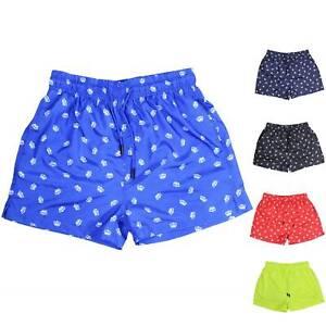 Costume-da-Bagno-Uomo-Bermuda-Boxer-Mare-con-Corona-Pantaloncino