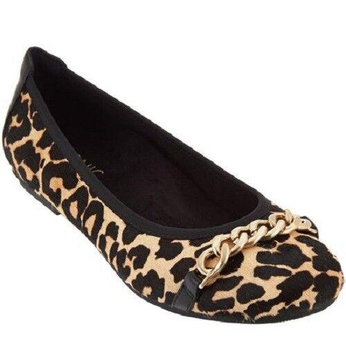comprare sconti Vionic by Orthaheel donna Spark Spark Spark Pera donna Flats - Tan Leopard  negozio di moda in vendita