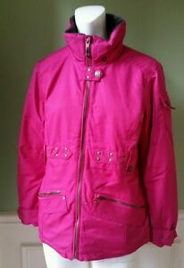 d3e29059e717 EUC Girl s Junior OBERMEYER Ski Snowboarding Jacket Insulated Pink ...
