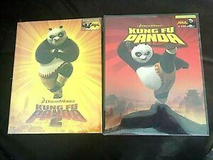 Kung Fu Panda 1 2 Blu Ray Embossed Steelbook Full Slip Blufans Exclusive Seal Ebay