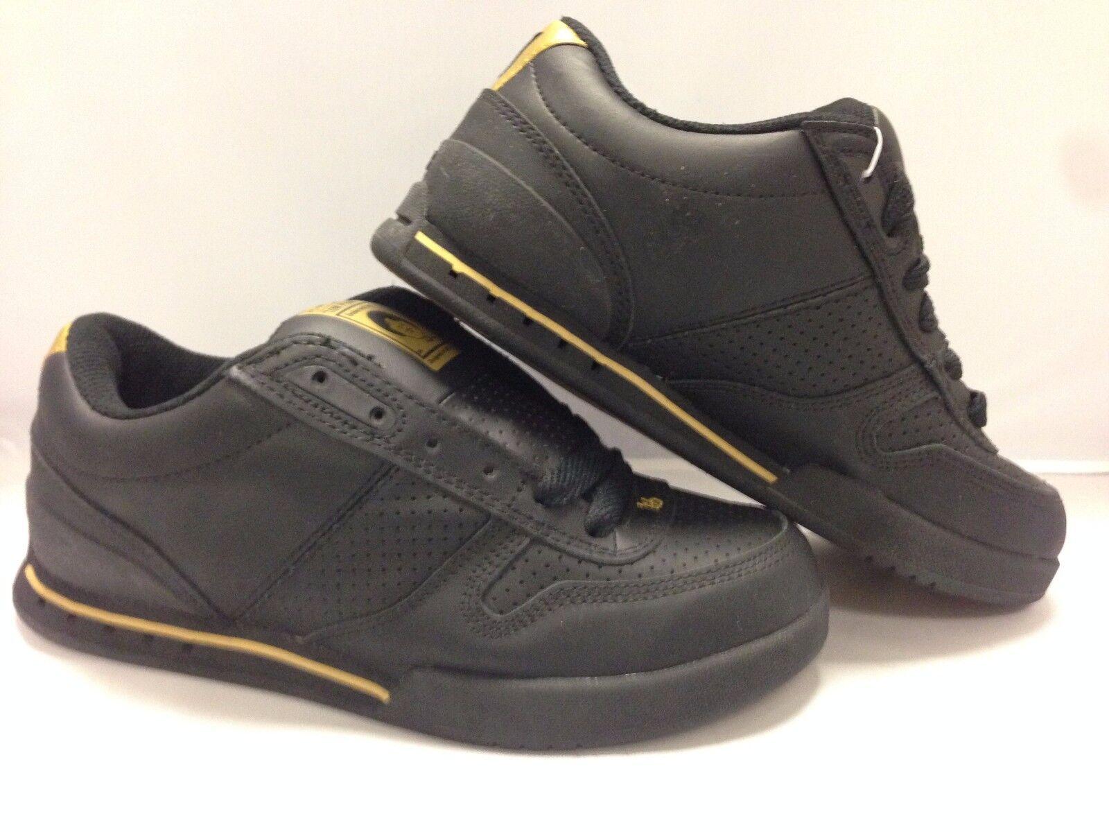 ES Men's shoes's ''Contract'' Black gold
