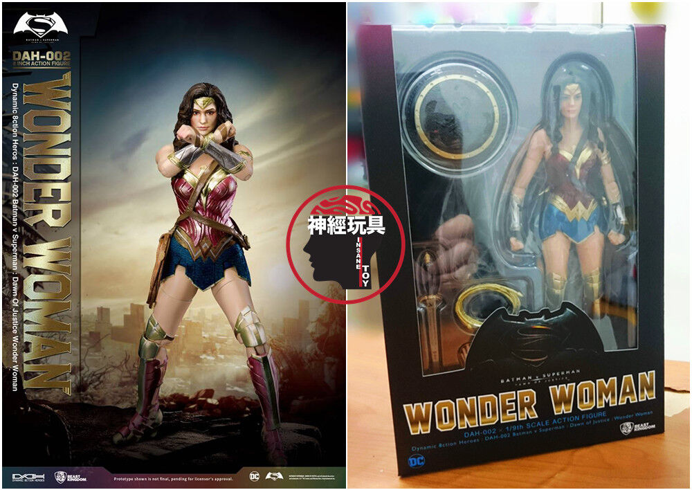 Bestie königreich dah-002 wonder woman 1   9 figur batman   superman  dawn.
