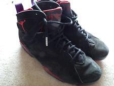 promo code 4f931 52afe Nike Air Jordan VII 7 Retro Black/red-purple Raptors 2002 ...