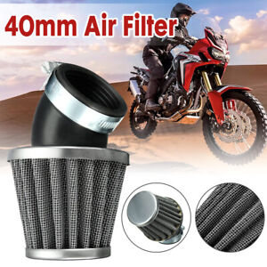 40mm-Angled-Air-Filter-Black-For-50-110-125-140cc-ATV-Pit-Dirt-Bike-Motorcycle