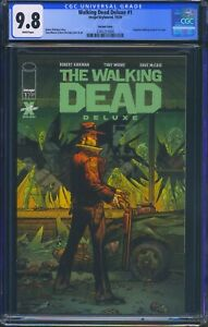 Walking-Dead-Deluxe-1-Image-CGC-9-8-White-Pages-Variant-Cover-Reprints-Issue-1