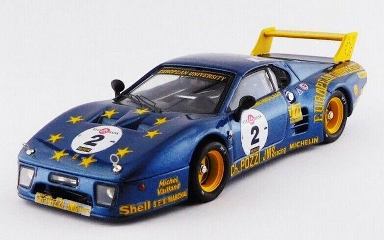 BEST MODEL BES9745 - Ferrari 512 BB  2 Le Mans Classic - 2010   1 43