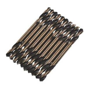 10pcs-set-Cobalt-M35-High-Speed-Steel-Drills-Bits-Double-Ended-Ending-Drill-Bit