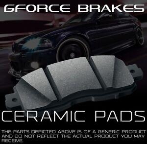 Front /& Rear Ceramic Pads for 2012-2015 Dodge Grand Caravan W// Heavy Duty Brakes
