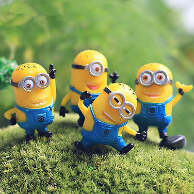 1 Set of 12Pcs Despicable me 2 Cute Minions Movie Character Figures Doll Toy NEW