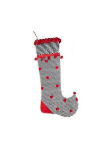 Mackenzie-Childs-WONDERLAND-Silk-Velvet-TALL-TALE-Christmas-Stocking-NEW-m19-n