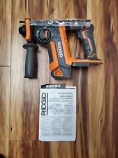 Ridgid R86711b Cordless Sds Plus Rotary Hammer 1 18 Volt Bare Tool Only New