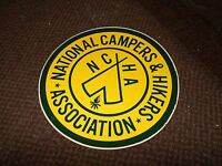 1960's 1970's National Campers & Hikers Association Ncha Decal Sticker 6