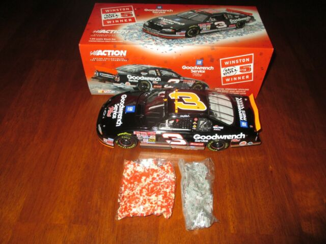 2000 Action Dale Earnhardt  3 Raced Version No Bull 76th