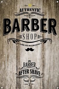 Barber Shop Metal Sign Barber Shop Décor Sign Wall Art Plaques Barber Shop 964
