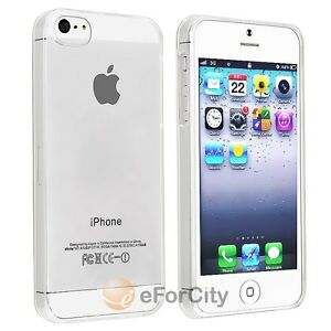 Ultra-Thin-Clear-Crystal-Snap-On-New-Hard-Case-Cover-For-Apple-iPhone-5-5G-5th