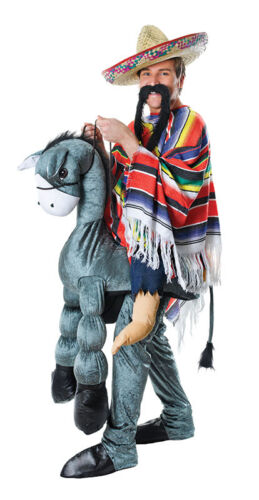 FANCY DRESS /'HEY AMIGO!/' COSTUME MEXICAN AND DONKEY COSTUME