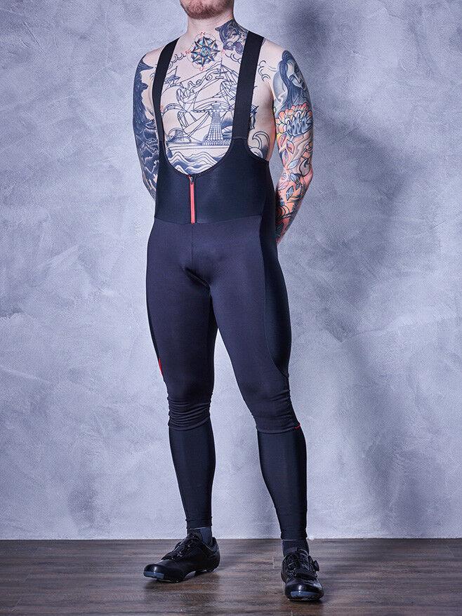 Cubo nuevo portador negroline pantalones Lang con pad talla s NP 119,95