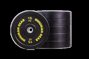 1-x-15-kg-Pro-Bumper-Plate-Hantel-Olympic-Bar-Crossfit-Fitness-home-gym