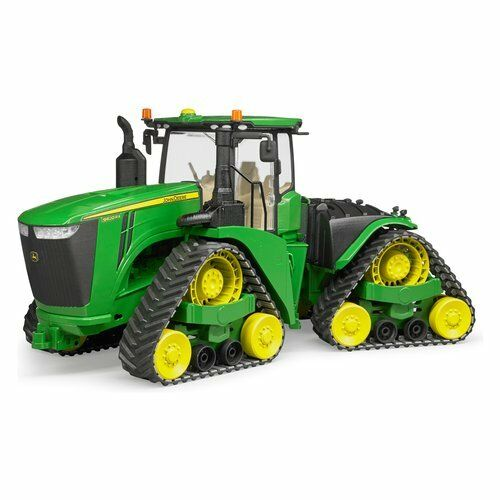 JEU TRACTEUR ROBOT D'INDEXATION JOHN DEERE 9620RX BRUDER MEZZO AGRICULTURE 04055
