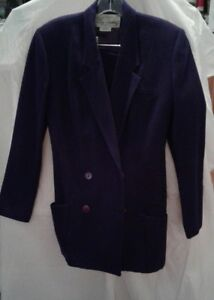 With Cassini Size 8 Purple Suit Oleg Skirt Womens dIWZYPwqw
