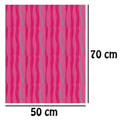 Simon Elvin 2 Sheets Gift Wrapping Paper /& 2 Tags 50cm x 70cm Pink Stripes D53