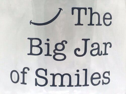 Gros pot de sourires Autocollant Vinyle Autocollant-Idéal pour le bricolage bonheur positivité Jar