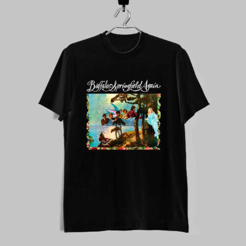 New Rare Buffalo Springfield Again Rock Band Logo Men T Shirt All Size