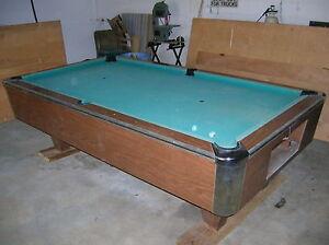 Vintage American Shuffleboard Pool Table New Jersey USA | eBay