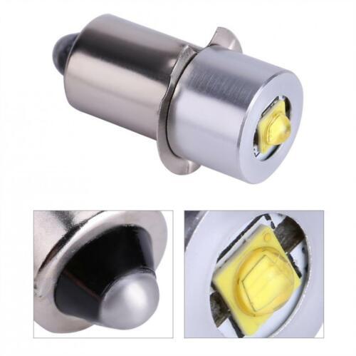 2pcs E10 p13.5s 3w dc6-24v 18v led flashlight bulbs mini torch bulb lights