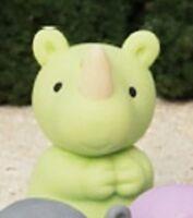 Iwako Japanese Animal Puzzle Eraser Rubber - Wild Animal Rhino Kangaroo Hippo