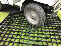 Wheel Chair Access Path Plastic Grid Grass Protection Pathway Scooter Over Grass