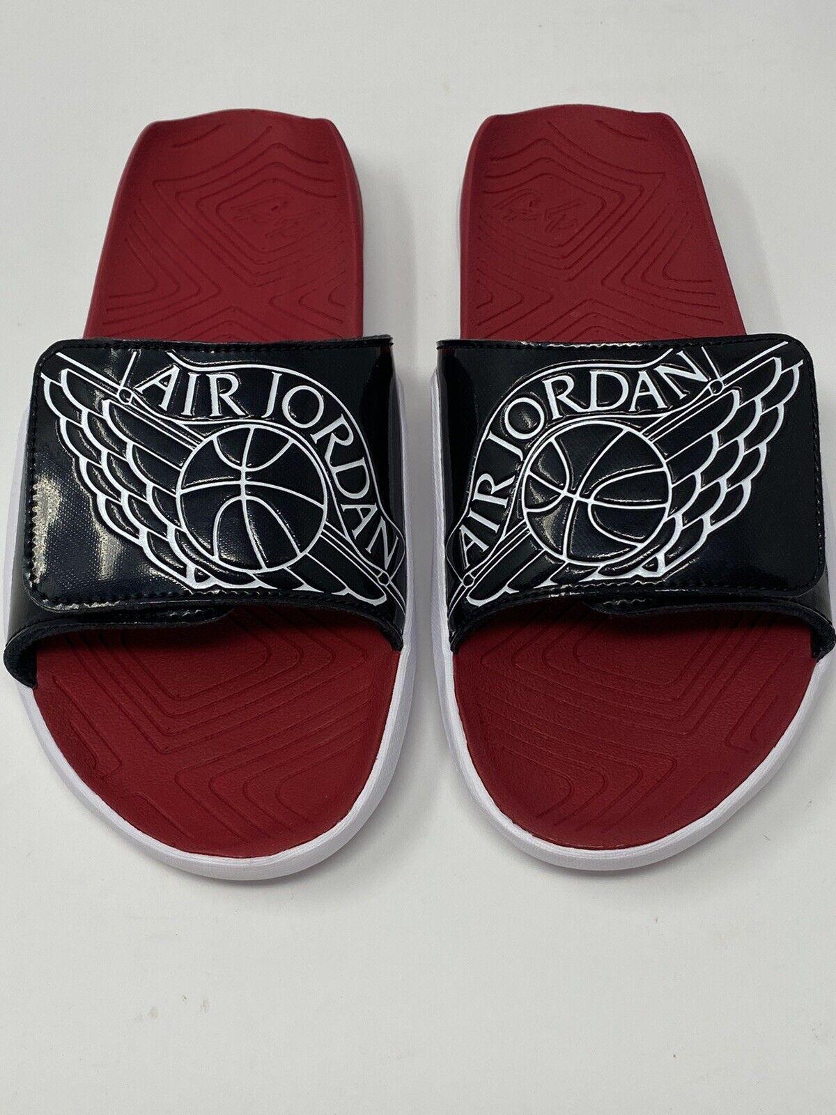 Jordan Hydro 7 Men/'s Sandals Black//Varsity Red AA2517 003  Free Shipping   O