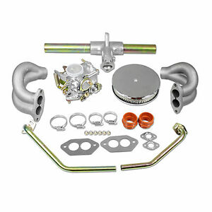 VW 34 PICT-3 Carburetor Kit With Air-Filter Type 1 and 2 VOLKSWAGEN Bug Bus Ghia