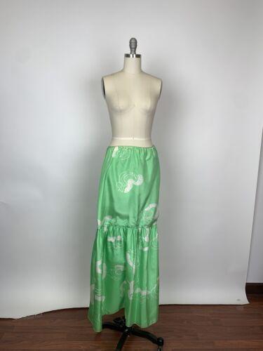 Vintage Mary McFadden Rare Silk Mermaid Maxi Skir… - image 1