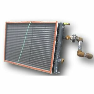 Used Aerofin Heat Exchanger Plate Fin Coil Type W Ebay