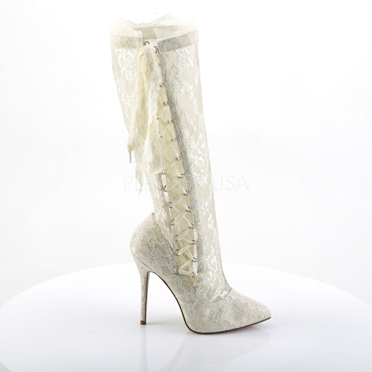 Amuse Knee 2012 Ivory WEISS Lace 5
