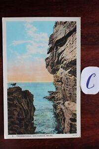 Carte Postale Vue Carte Amérique Du Nord Usa-afficher Le Titre D'origine